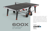 Cornilleau Sport 600X Crossover Indoor/Outdoor Table - FREE Ship & Net 1