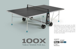 Cornilleau Sport 100X Crossover Indoor/Outdoor Table 6