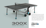 Cornilleau Sport 300X Crossover Indoor/Outdoor Table - FREE Ship & Net (Canada Only) 1