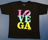 Xiom Love Vega black T-shirt (Medium-large)