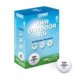 Gewo AWR Outdoor 40+ White Balls (6) 3