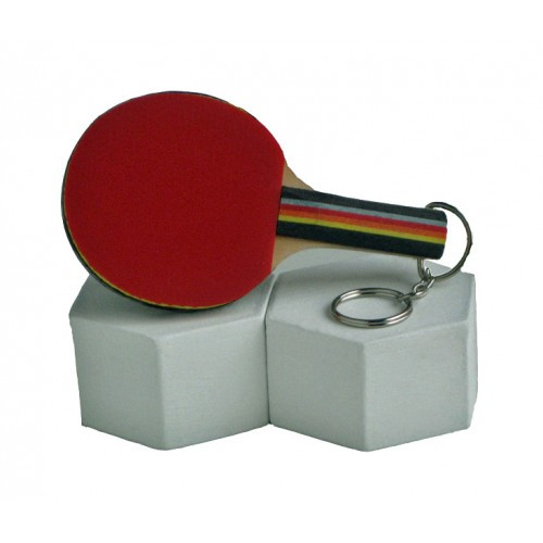 DONIC Piccolo Mini Racket with Rubber and Key Ring Ping Pong Depot Table Tennis Equipment