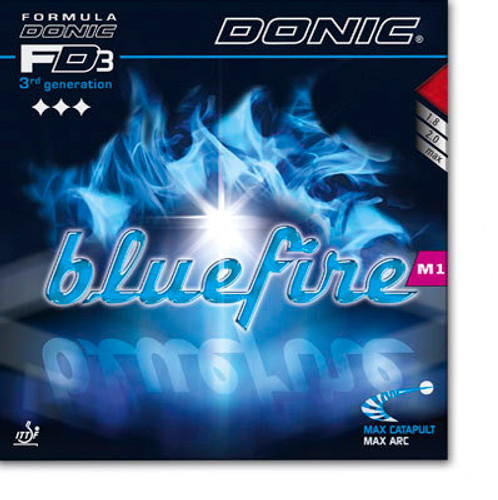 DONIC Bluefire M1 Rubber Ping Pong Depot Table Tennis Equipment