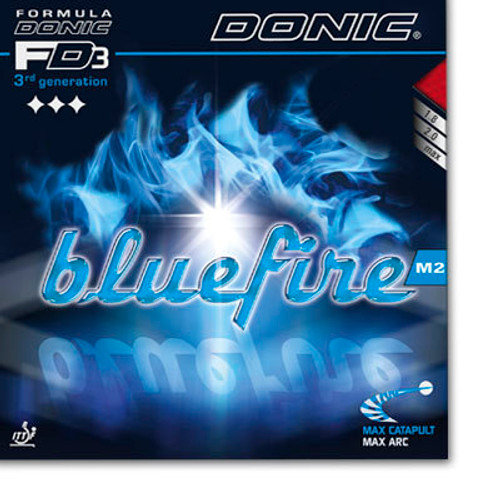 DONIC Bluefire M2 Rubber Ping Pong Depot Table Tennis Equipment