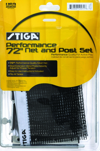 STIGA Performance Net and Post Set tennis table indoor tables