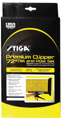 STIGA Premium Clipper Net and Post Set