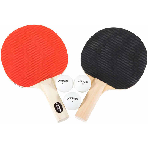 STIGA Classic Two Player Racket Set Ping Pong Depot Table Tennis Equipment