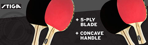 STIGA Performance Four Player Racket Set Ping Pong Depot Table Tennis Equipment 2