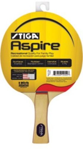 Stiga Aspire Racket FL Ping Pong Depot Table Tennis Equipment