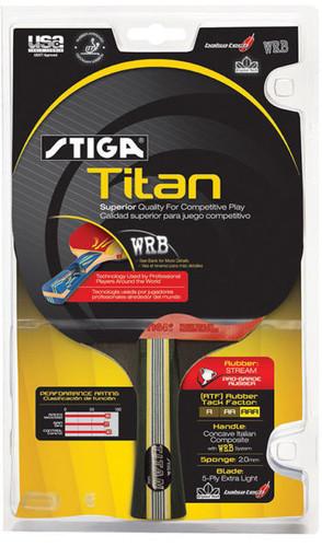 Stiga Titan Racket FL Ping Pong Depot Table Tennis Equipment