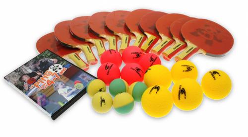 Cornilleau Baby Ping Pack FL Racket Set Ping Pong Depot Table Tennis Equipment