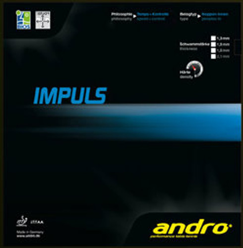 Andro Impuls Rubber Ping Pong Depot Table Tennis Equipment