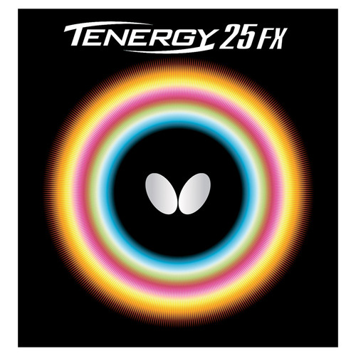 Butterfly Tenergy 25 FX Rubber Ping Pong Depot Table Tennis Equipment