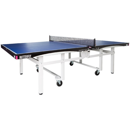 Butterfly Centrefold 25 Stationary Blue Grey, USED, includes shipping and Net USA only Ping Pong Depot Table Tennis Equipment