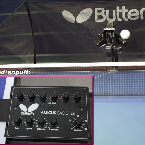 Butterfly Amicus Basic shipping included Canada only Ping Pong Depot Table Tennis Equipment