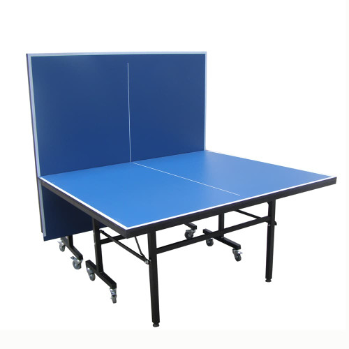 "Double Queen ""Grand Choice"" 18mm blue (Canada only) Table, includes net & post set Ping Pong Depot Table Tennis Equipment"