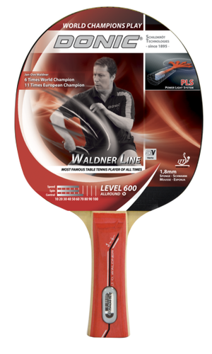 Donic Waldner 600 Racket Ping Pong Depot Table Tennis Equipment