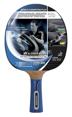 Donic Waldner 800 Racket Ping Pong Depot Table Tennis Equipment