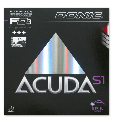 Rubber Sheet for Combo Blade   DONIC Acuda S1 Rubber Only with 1 Combo Blade Ping Pong Depot Table Tennis Equipment
