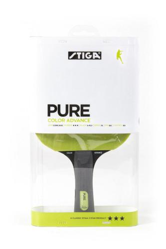Stiga Pure Advance Green Racket Ping Pong Depot Table Tennis Equipment
