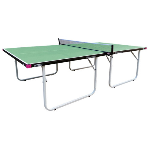 Butterfly Compact Outdoor Green Table
