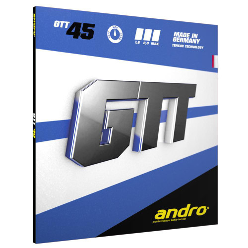 Andro GTT 45 Rubber Ping Pong Depot Table Tennis Equipment