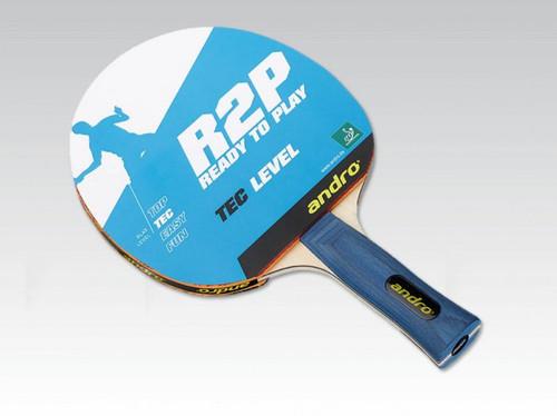 Andro Ready 2 Play Tec FL  Ping Pong Depot Table Tennis Equipment