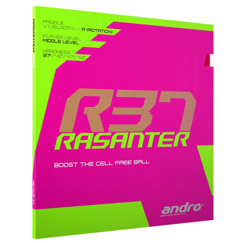 Andro Rasanter R 37 Rubber Ping Pong Depot Table Tennis Equipment