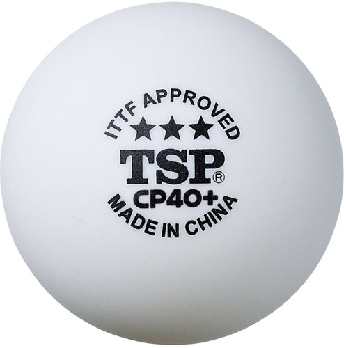 TSP CP40+ ABS White 3 Ping Pong Depot Table Tennis EquipmentTSP CP40+ ABS White 12 Ping Pong Depot Table Tennis Equipment