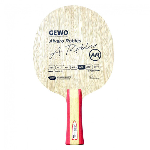 Gewo Alvaro Robles Off- FL Ping Pong Depot Table Tennis Equipment