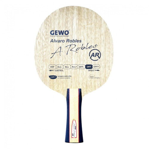 Combo – Gewo Alvaro Robles OFF FL Blade for combo Ping-Pong Depot Table Tennis Equipment