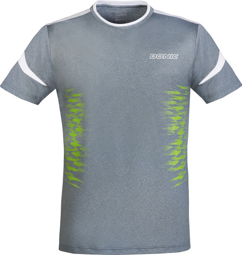 DONIC Level Grey T-Shirts Ping Pong Depot Table Tennis Equipment