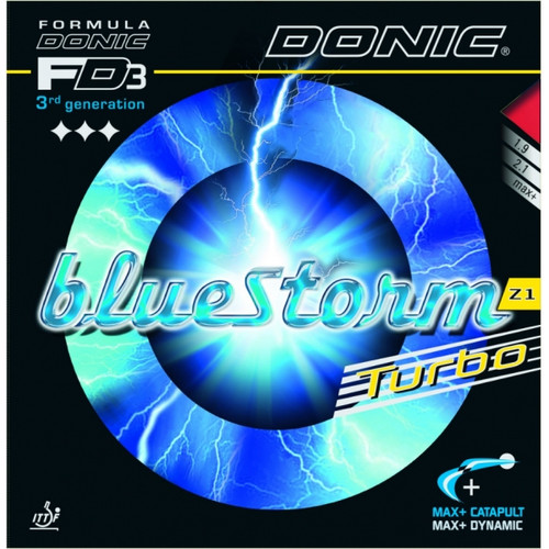Donic Bluestorm Z1 Turbo PingPongDepot.com Table Tennis Equipment