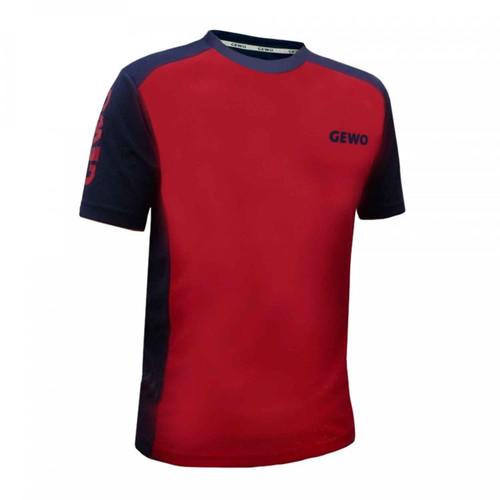 GEWO Savona Black-Red T-Shirt  Ping Pong Depot Table Tennis Equipment