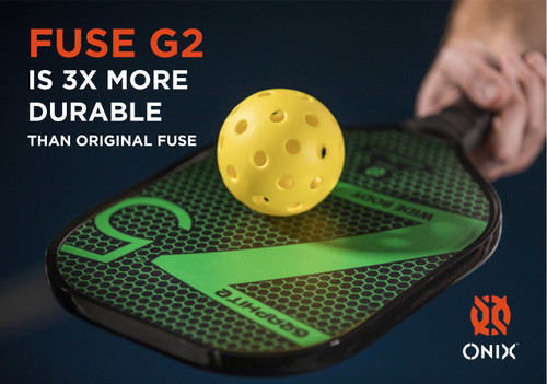 Balls Fuse G2 Outdoor 6-Pack Yellow