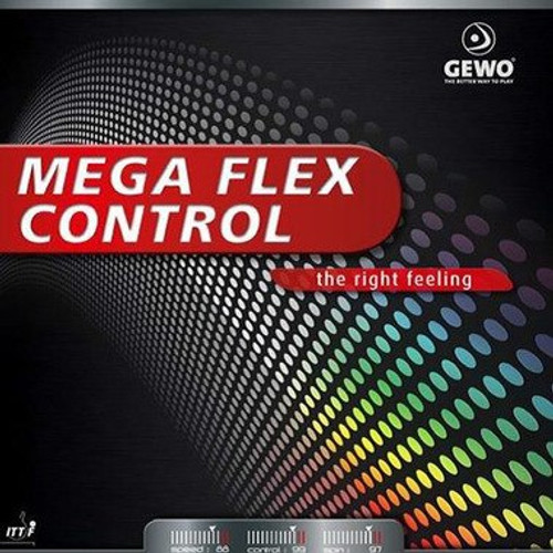 Gewo Mega Flex Cont Rubber Sheet Ping Pong Depot Table Tennis Equipment