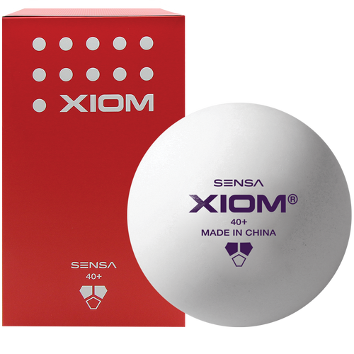 Xiom Sensa Training (100) ABS White Balls Ping Pong Depot Table Tennis Equipment