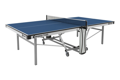Sponeta S 7-63 i 25mm Indoor Blue ITTF Approved Table - FREE Ship & Net (Canada only) Ping Pong Depot Table Tennis Equipment