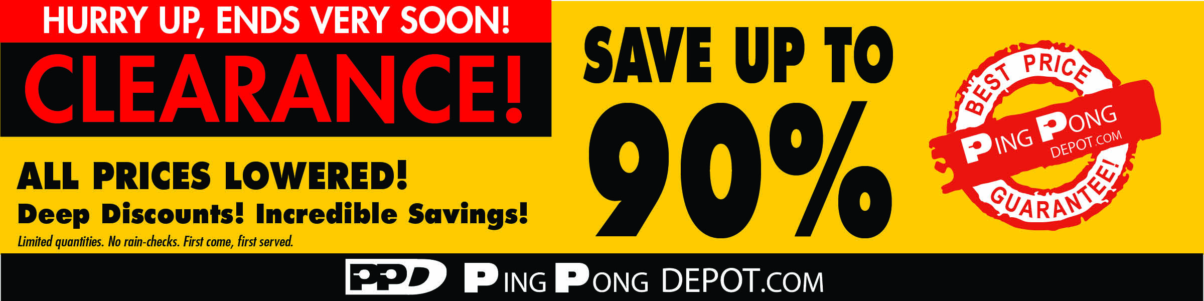 PingPongDepot com Table Tennis / Ping-Pong Equipment Store