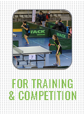 Click to shop rackets for training and competition