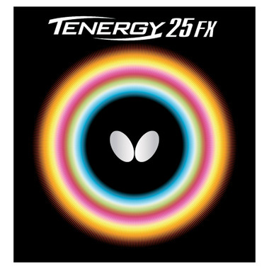 Butterfly Tenergy 25 Fx Rubber Ping Pong Depot