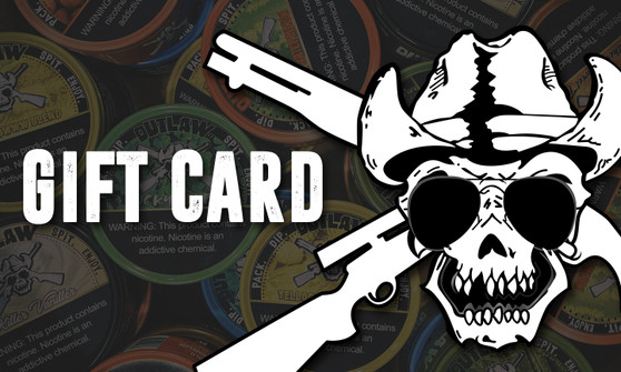 Outlaw Dip Gift Card
