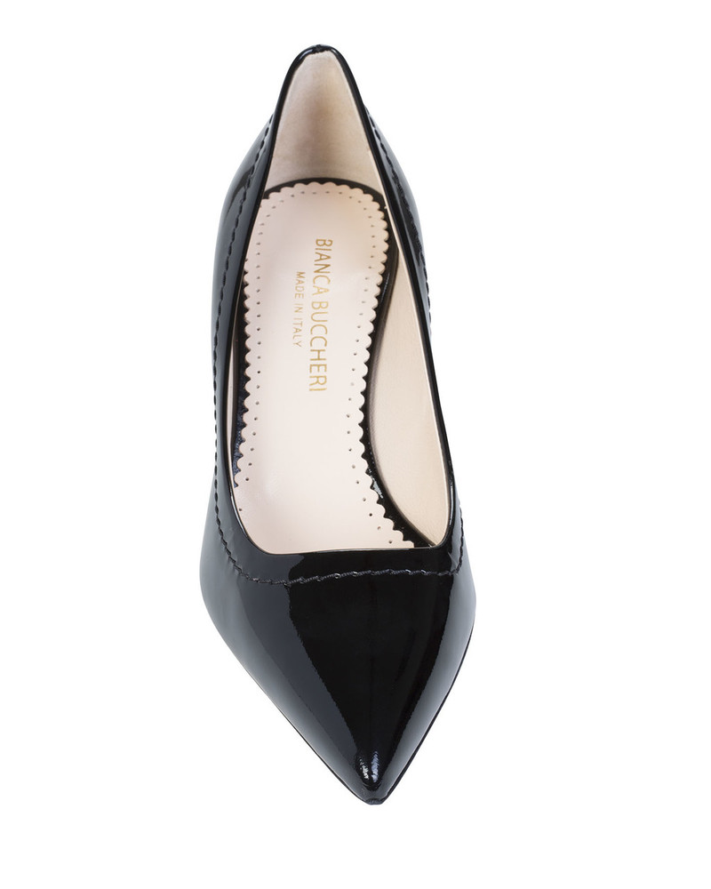 Bianca Buccheri ANGYbb Angy Pump Black front view