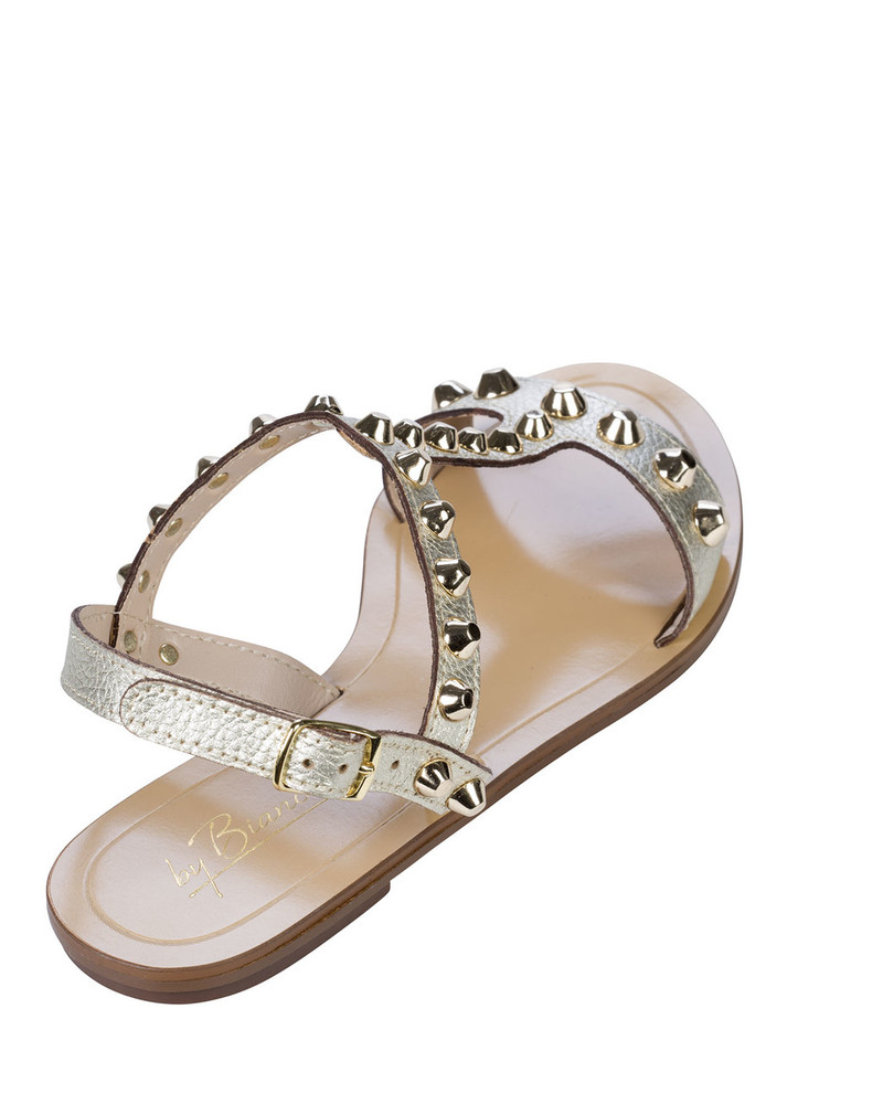 By Bianca 1997bb Samara Sandal Platino back view