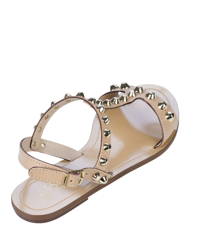 By Bianca 1997bb Samara Sandal Beige back view