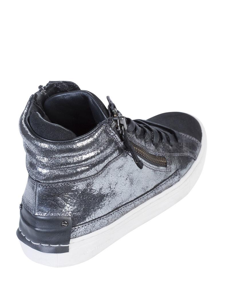 Crime LEOLAc Leola Sneaker Silver back view