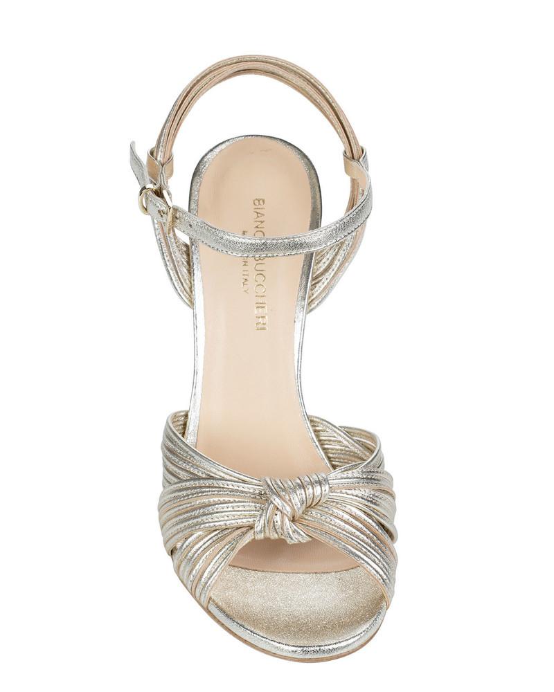 Bianca Buccheri 2571bb Follina Sandal Platinum