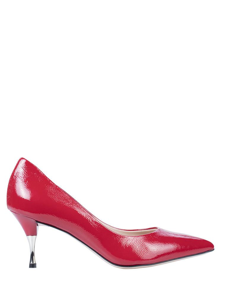 Bianca Buccheri Amelie Pump Red