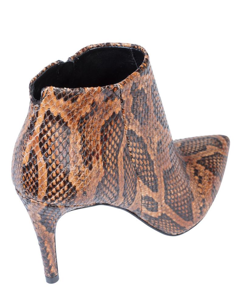 Bianca Buccheri Brisa Boot Tan Snake
