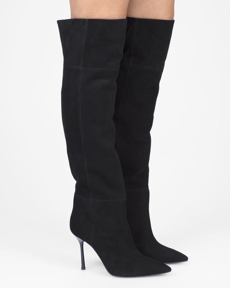 Bianca Buccheri Henley Boot Black